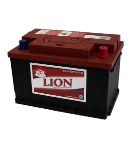 LION RED 457T 12v 710cca 68ah Calcium Battery