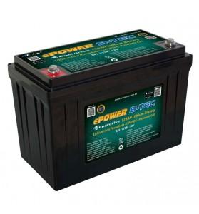 ePOWER B-TEC LiFeP04 12v 125Ah G2 Lithium Battery