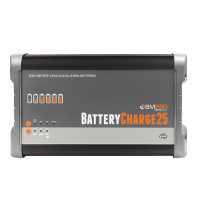 BMPRO BATTERYCHARGE25 - 12v 25 Amp Lithium & Lead-Acid Battery Charger