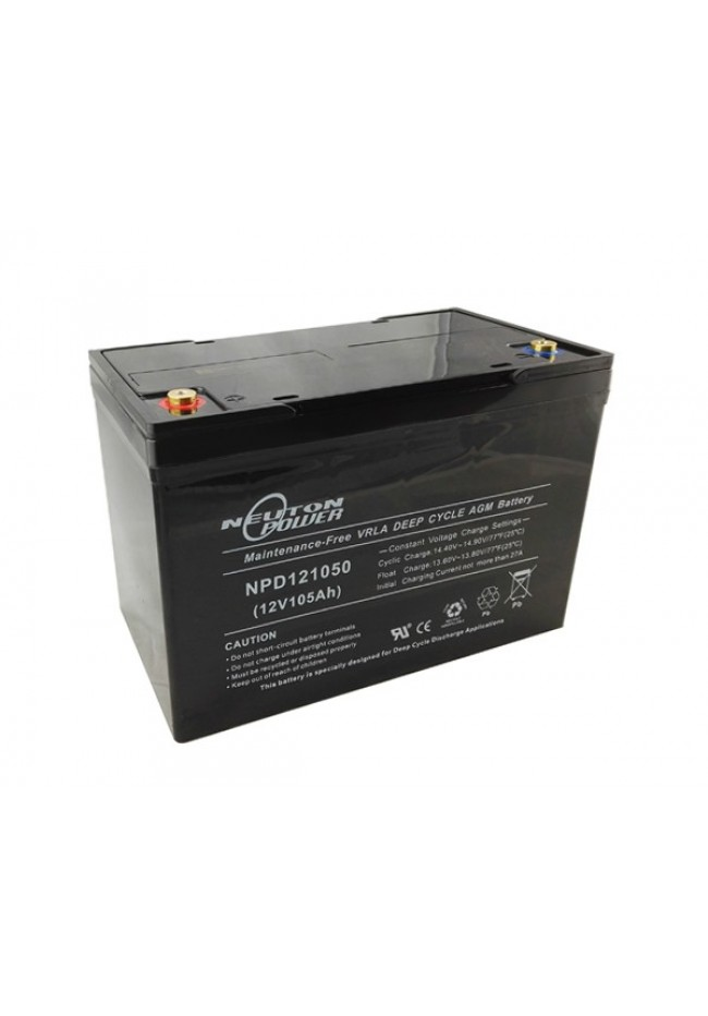 Neuton Power 12v 105ah AGM Deep Cycle Battery