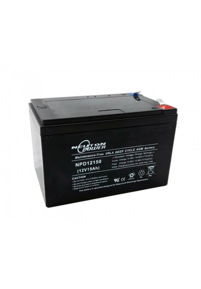 Neuton Power 12v 15ah AGM Deep Cycle Battery