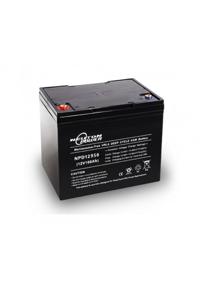 Neuton Power 12v 95ah AGM Deep Cycle Battery