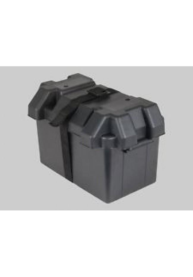 Battery Box L - Large Plastic Black