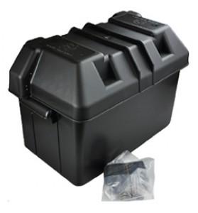 Battery Box M - Med Plastic Black