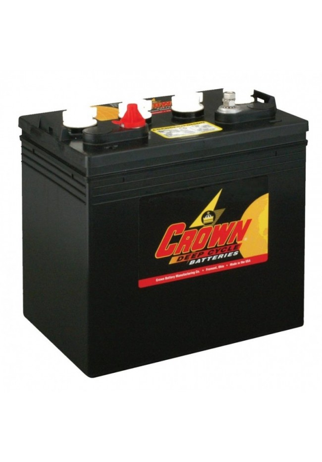 Crown CR-165 8v 165Ah Flooded Industrial Deep Cycle Battery