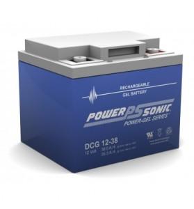 Power Sonic DCG1238 12v 38ah GEL AGM Deep Cycle Battery
