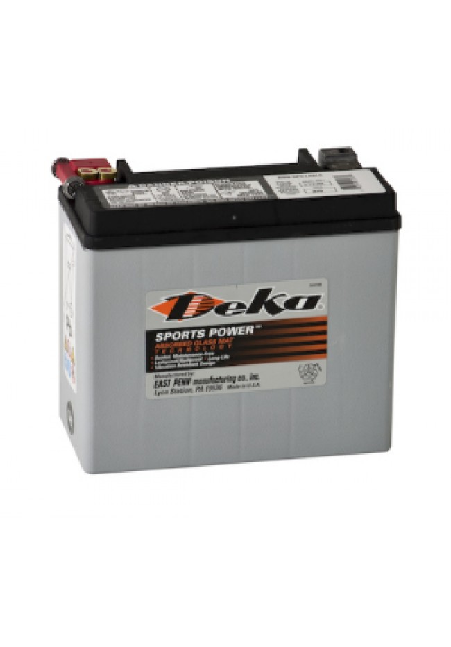 ETX20L Deka AGM Motorcycle Battery Made in USA