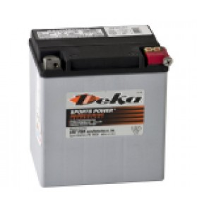 ETX30LA Deka AGM Motorcycle Battery Made in USA