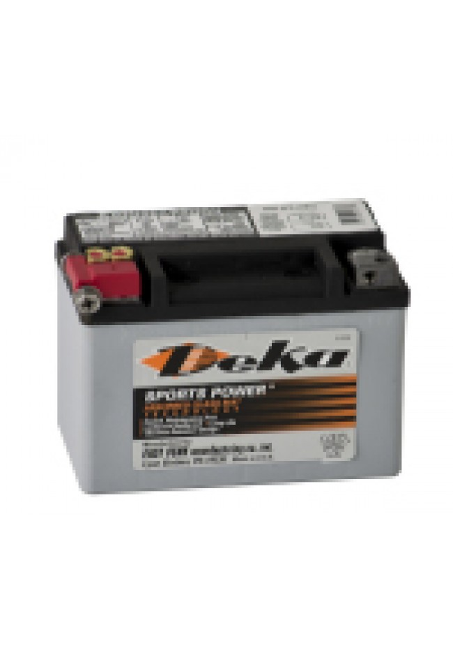 ETX9 Deka AGM Motorcycle Battery Made in USA