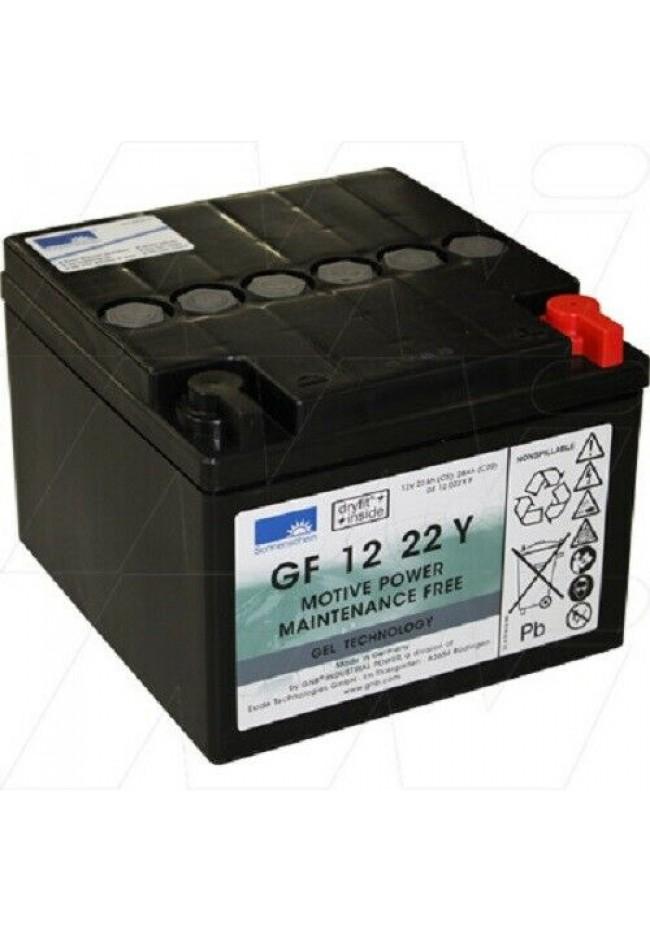 Sonnenschein GF12 22YT 12V 24Ah Gel Deep Cycle Battery