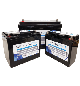 Invicta SNL12V200BT LiFePO4 Lithium Deep Cycle Battery with Bluetooth