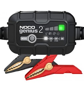 NOCO GENIUS2AU 6/12V 2A SMART CHARGER LEAD ACID, FLOODED, GEL, AGM LITHIUM-ION BATTERIES