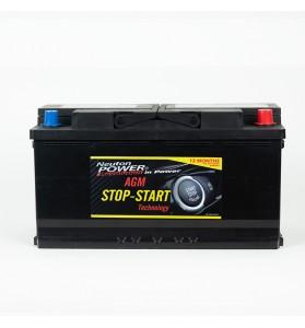 Stop-Start AGM Car Battery - VRL590 12V 850CCA