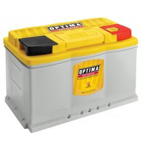 Optima YELLOW TOP® DH6 (LN3) 12v 800cca 72Ah AGM Deep-cycle/Cranking Battery