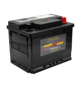 Power-Sonic P56030MF 12v 60Ah 520cca Calcium (DIN53LH) Battery