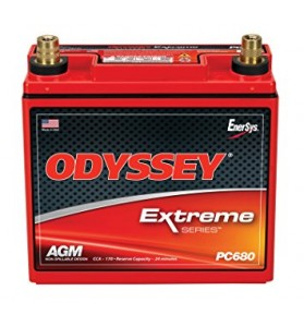 Odyssey® PC680MJT (ES12V650) 12V AGM Dry Fit Battery