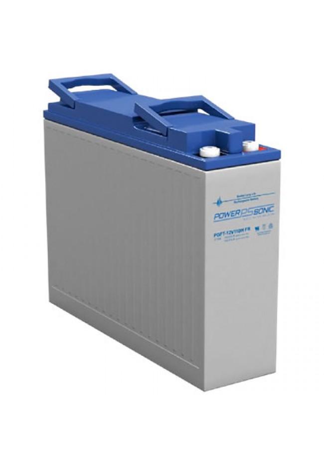 Power Sonic PGFT-12V110H 12v 110ah Deep Cycle AGM (Slimline) Battery