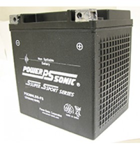 PIX30HLBS-FS Power Sonic 12v AGM Motorcycle Battery
