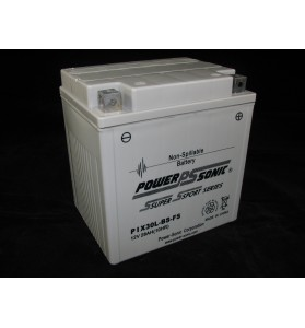 PIX30CLBS-FS Power Sonic 12v AGM Motorcycle & Jet Ski Battery