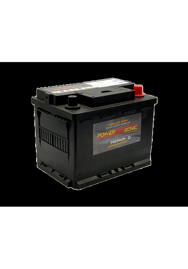 Power-Sonic PLN2 12v 60Ah 680cca ISS Active Stop-Start AGM Battery