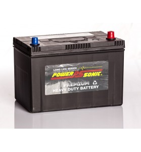 Power-Sonic PN70ZZLMF 12v 90Ah 750cca Calcium 4WD Battery