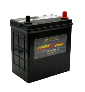 Power-Sonic PNS40LMF (Small Post) 12v 310cca Calcium Battery