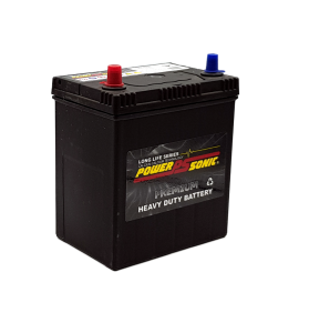 Power-Sonic PNS40RMF (Small Post) 12v 310cca Calcium Battery