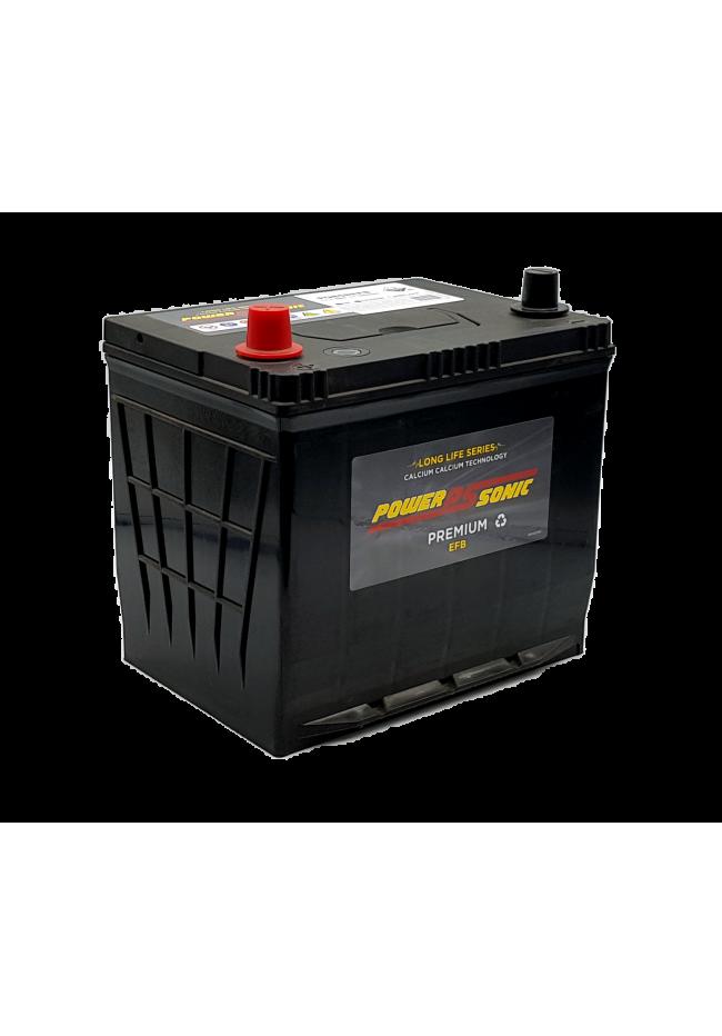 Power-Sonic PQ85REFB 12v 75Ah 660cca ISS ACTIVE / STOP-START EFB Battery