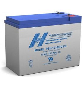 Power Sonic PSH12100 12v 10.5Ah AGM Battery