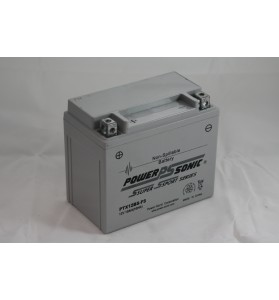 PTX12BS-FS Power Sonic (YTX12BS) 12v AGM Motorcycle Battery