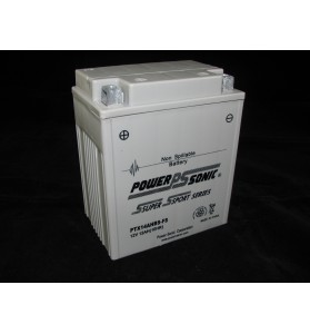 PTX14AHBS-FS Power Sonic (YB14A-A2) 12v AGM Motorcycle Battery