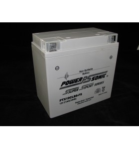 PTX19CLBS-FS Power Sonic (YB16CLB) 12v AGM Motorcycle & Jet Ski Battery