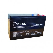ZEAL SA12V7 12v 7Ah AGM Standby Battery