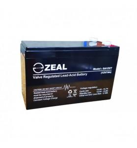ZEAL SA12V7 12v 7Ah AGM Standby Battery