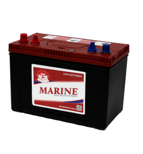 LION RED SMFDCM27 12v 680cca 100ah Deep Cycle Calcium Battery