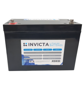 INVICTA SNL12V100S 12V 100AH Lithium Deep Cycle Battery