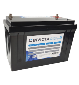Invicta SNL24V100BT 24V 100AH Lithium LiFePO4 Deep Cycle Battery with Bluetooth