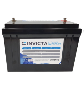 INVICTA SNL12V125S 12V 125AH Lithium Deep Cycle Battery