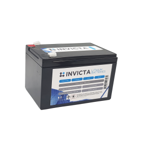 INVICTA SNL12V12S 12V 12AH Lithium Deep Cycle Battery