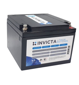 INVICTA SNL12V24S 12V 24AH Lithium Deep Cycle Battery