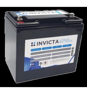 INVICTA SNL12V40BT 12V 40AH Lithium Deep Cycle Battery