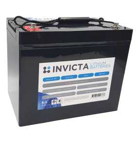 INVICTA SNL12V75S 12V 75AH Lithium Deep Cycle Battery
