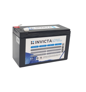 INVICTA SNL12V9S 12V 9AH Lithium Deep Cycle Battery