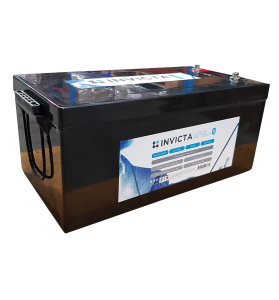 INVICTA SNL24V150BT 24V 150AH Lithium Deep Cycle Battery with Blue Tooth
