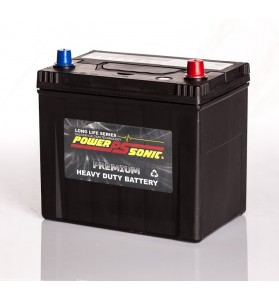 Power-Sonic P55D23LMF 12v 60Ah 550cca Calcium Battery