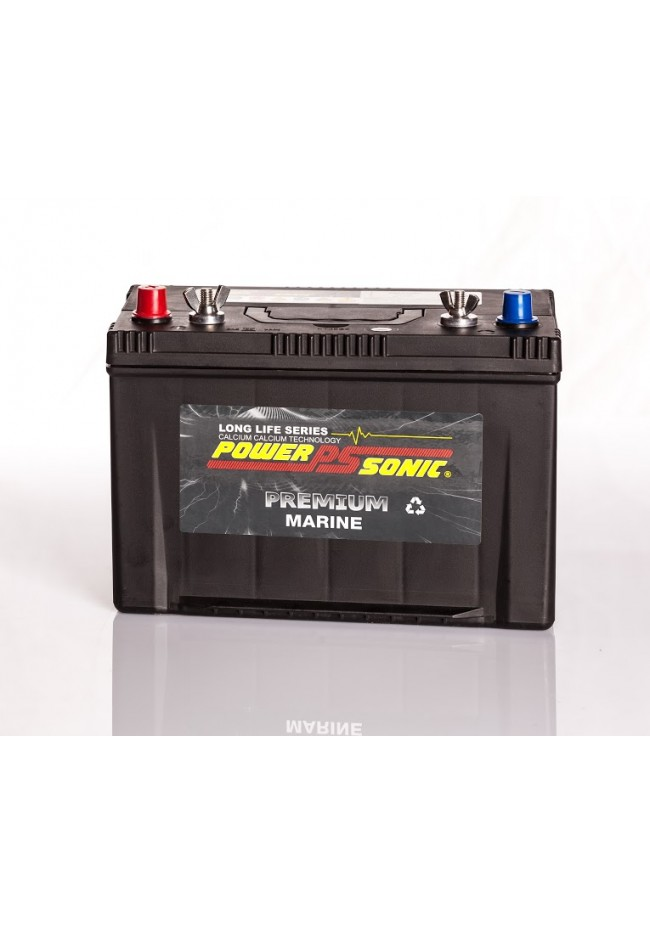 Power-Sonic PDCM27MF 12v 100AH 680cca Deep Cycle / Marine Battery