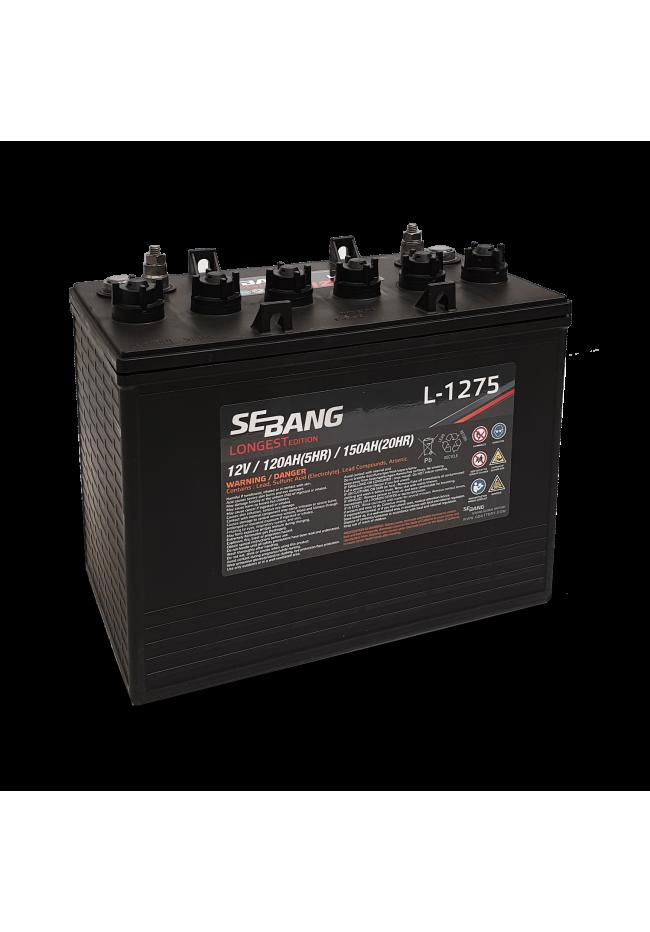 Sebang L1275 12v 150Ah Deep Cycle Battery