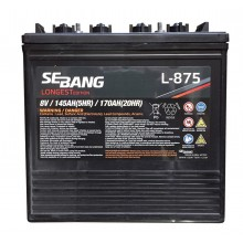 Sebang L875 8v 170Ah Deep Cycle Battery