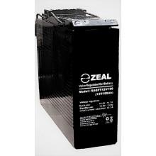 ZEAL SAGFT12V100 12v 100Ah Slimline Deep Cycle GEL Battery