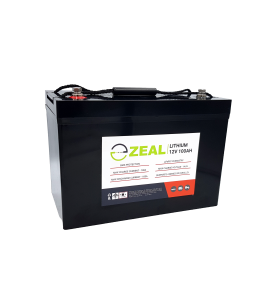 ZEAL SLZ12V100S 12v 100Ah Lithium Deep Cycle Battery